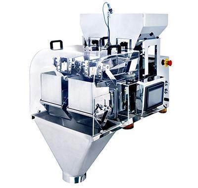 JW-AXM2 linear weigher with 2 heads