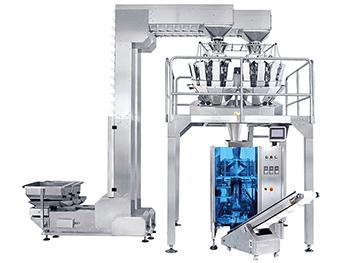 JW-MIX1 Vertical Form Fill and Seal Packaging Line with 10 Head Weigher