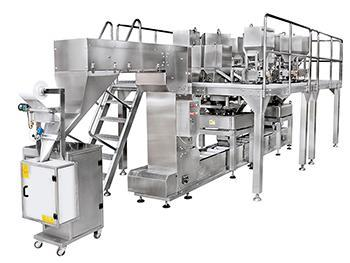 JW-MIX2 Horizontal Weighing and Packing Line for Mixed Products with 10 Head Weigher